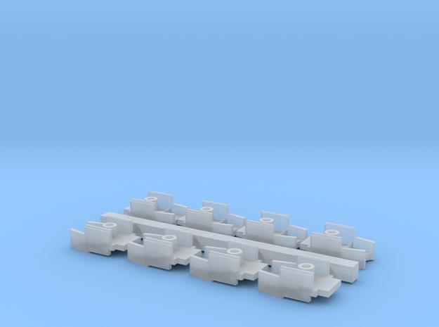Atlas 11g Tank Coupler Adapter v2017 in Smoothest Fine Detail Plastic