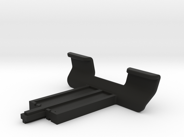 Replacement arm clips for OttoPilot kneeboard in Black Strong & Flexible