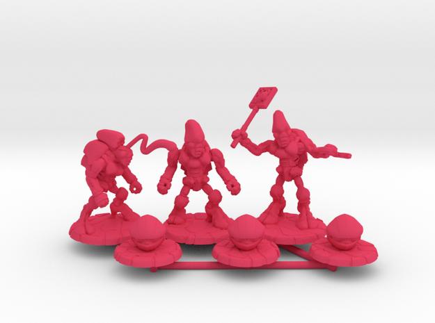 Pillthug Squad in Pink Processed Versatile Plastic: Small