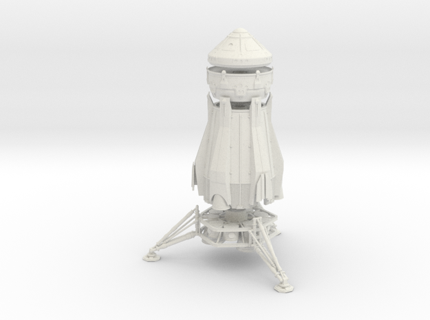 1/200 NASA/JPL ARES MARS ASCENT VEHICLE - COMPLETE in White Natural Versatile Plastic