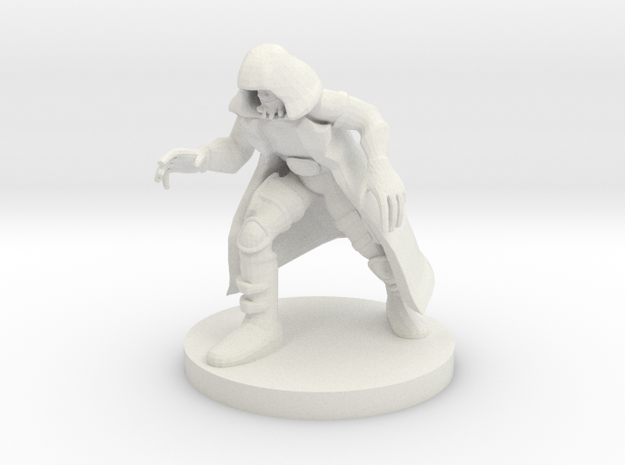 Stealthy Sea Monk in White Natural Versatile Plastic