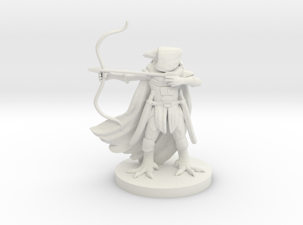 Ravenfolk Ranger in White Natural Versatile Plastic