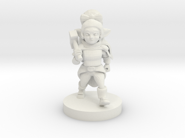 Halfling Female Cleric