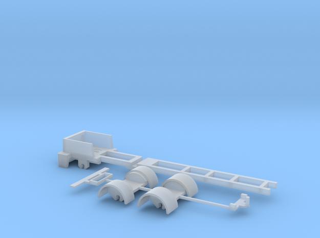 kompletter Rahmen 3ax  Spur N 1:160  für Herpa Fah