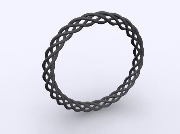 Braiding bracelet 3d printed Description