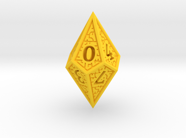 Hedron D10 (Solid), balanced gaming die