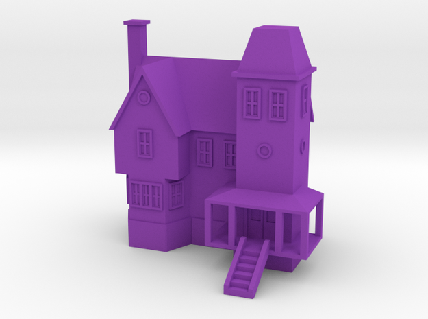 Beetlejuice Maitland House in Purple Strong & Flexible Polished