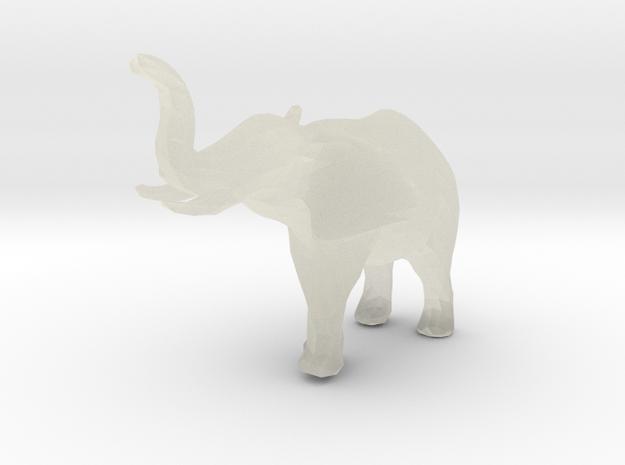 elephant - low poly