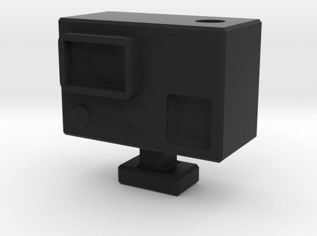 Scale 1:10 Action Cam for Drifter and Crawler in Black Natural Versatile Plastic