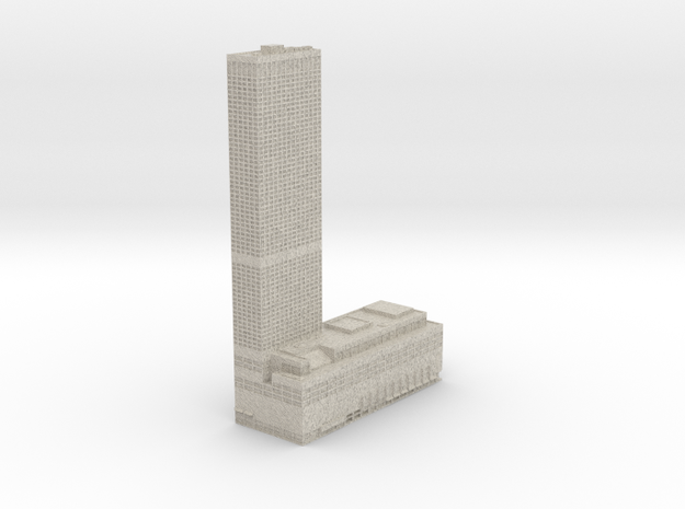 Water Tower Place (1:1200 scale)