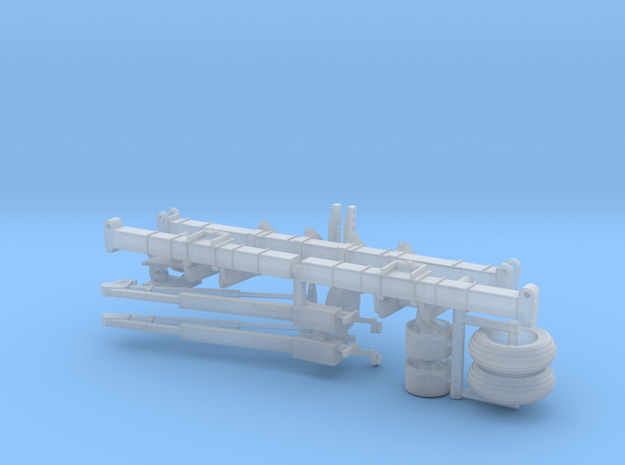 "1/64 Scale 8 Row 36"" Vertical Fold Planter Toolbar"