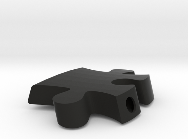 A9 - Makerchair in Black Natural Versatile Plastic