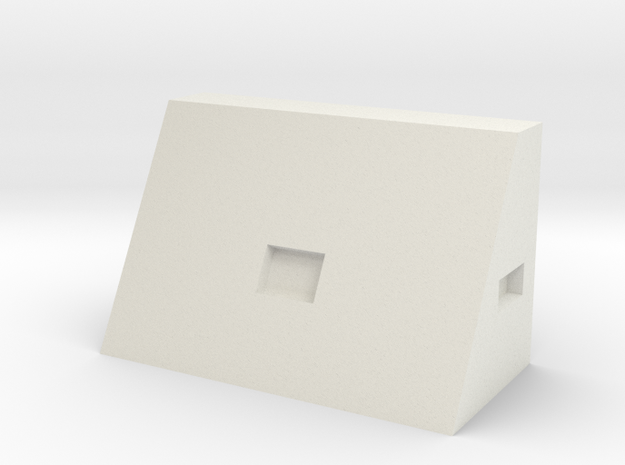 1/64 30 inch triangle toolbox in White Natural Versatile Plastic