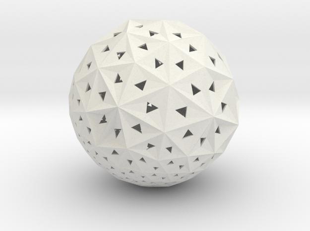 "Q-04: ""UniFolds"" by Jenny Sabin Studio in White Natural Versatile Plastic"