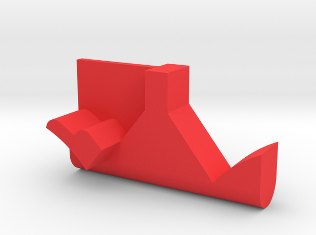 Warthog throttle part - dual detent in Red Processed Versatile Plastic