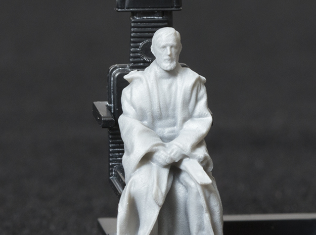 1/72 Scale Figure for Bandai Millennium Falcon in Smooth Fine Detail Plastic