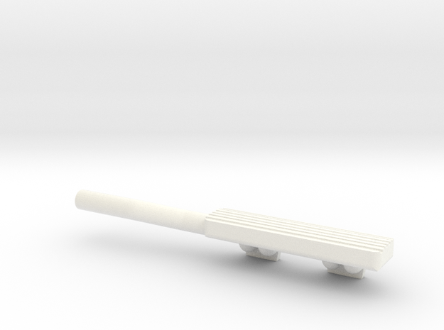 1/10 Defender TDI Air Intake in White Processed Versatile Plastic