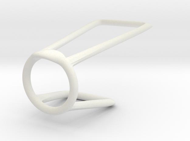 Ring for Shevone 6_5 in White Natural Versatile Plastic