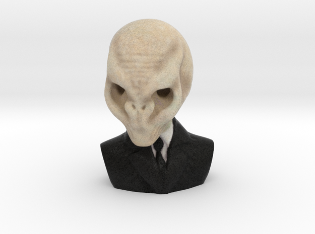The Silence, Doctor Who in Full Color Sandstone