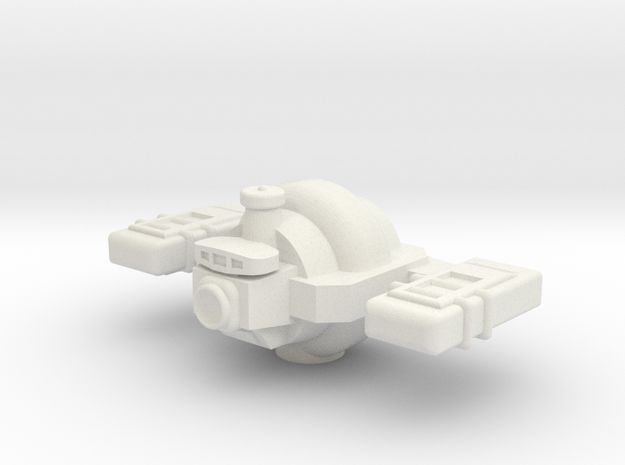 Omni Scale General Small Freighter (In Ballast) SR in White Strong & Flexible