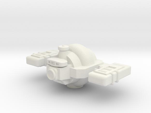 Omni Scale General Small Freighter (In Ballast) SR in White Natural Versatile Plastic