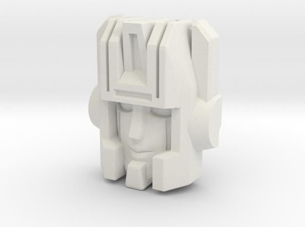 Skullgrin/Leige Maximo Face  in White Strong & Flexible