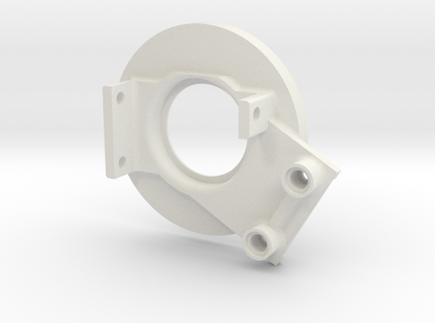rampage_encoder_mount_left_back in White Strong & Flexible