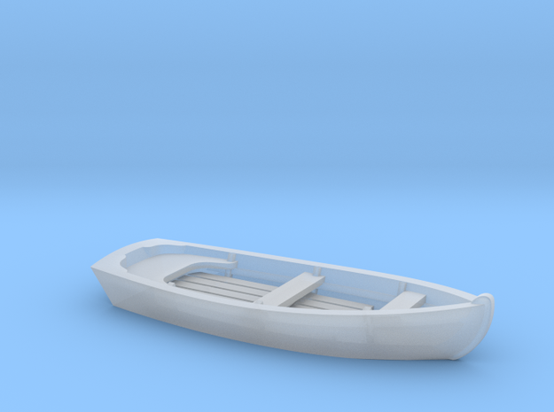 CLASSIC Skiff Boat HO Scale in Smooth Fine Detail Plastic
