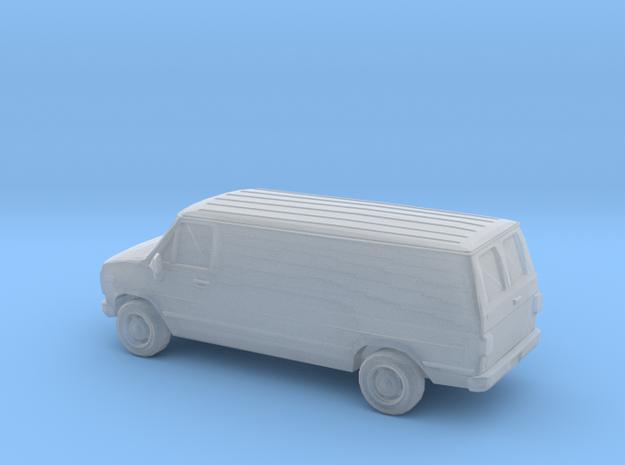 1/120 1X 1988 Chevrolet G Series Van in Smoothest Fine Detail Plastic