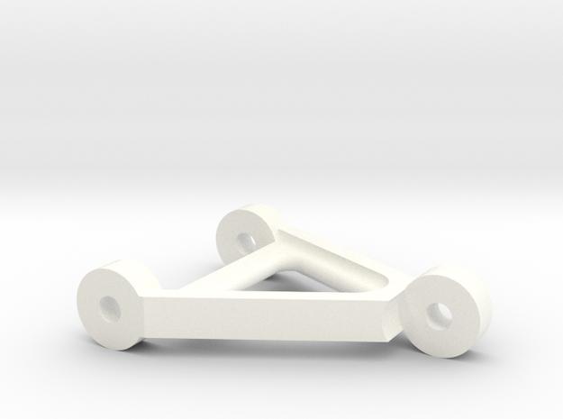 LG Compass in White Processed Versatile Plastic