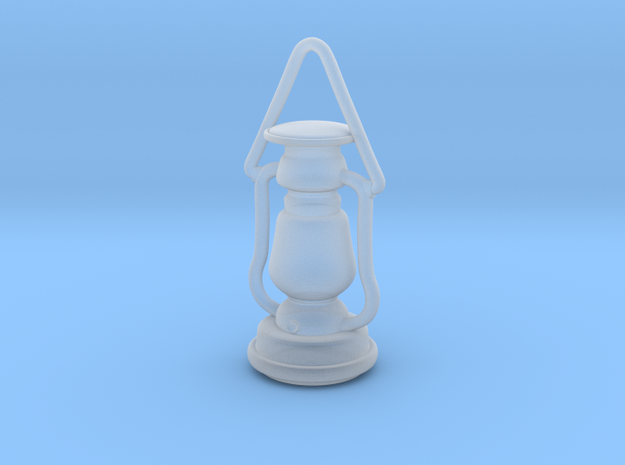 1/16 Lantern miniature/pendant in Frosted Ultra Detail