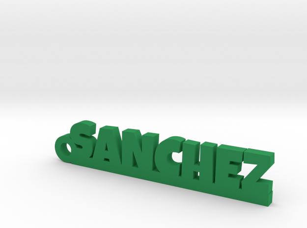 SANCHEZ_keychain_Lucky in Green Processed Versatile Plastic