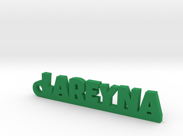 LAREYNA_keychain_Lucky in Green Processed Versatile Plastic