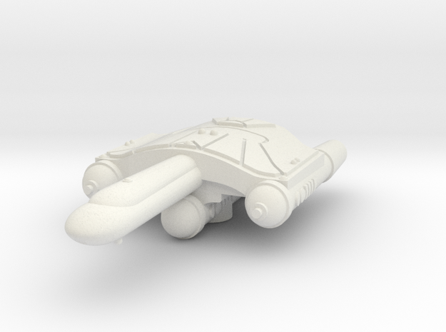 3788 Scale Romulan SaberHawk Heavy War Destroyer W in White Strong & Flexible