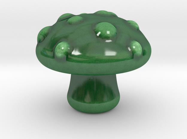Noxious Trap in Gloss Oribe Green Porcelain