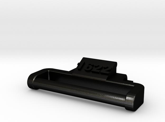 Model 1622 (metal, 1 adapter only) G-Shock adapter in Matte Black Steel