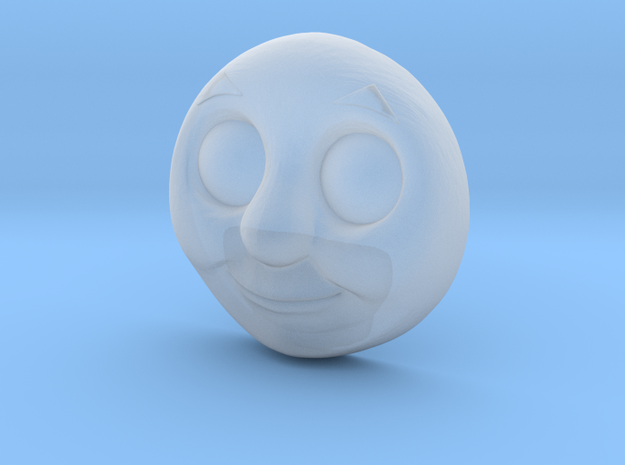 Character No.1 - Smiling in Smoothest Fine Detail Plastic