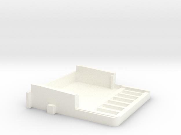 Hp41 Mod Bottom in White Processed Versatile Plastic