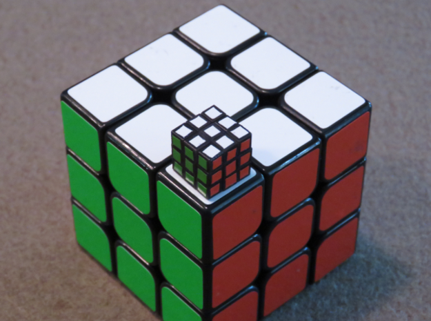 12mm 3x3 Puzzle in Frosted Ultra Detail