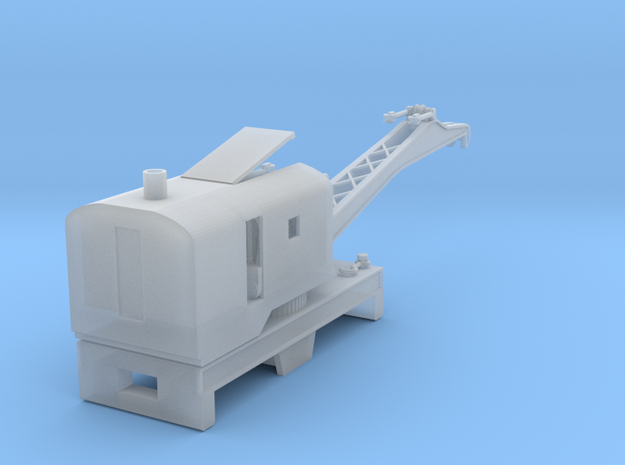 Brownhoist MOW Crane - 1:120scale in Frosted Ultra Detail