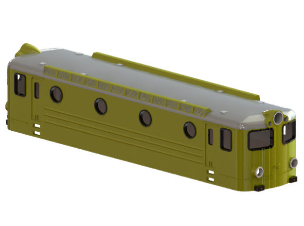 Swedish TGOJ electric locomotive type Bt - N-scale in Frosted Ultra Detail