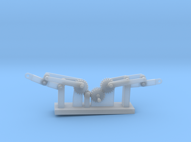 Orthicopter in Smooth Fine Detail Plastic
