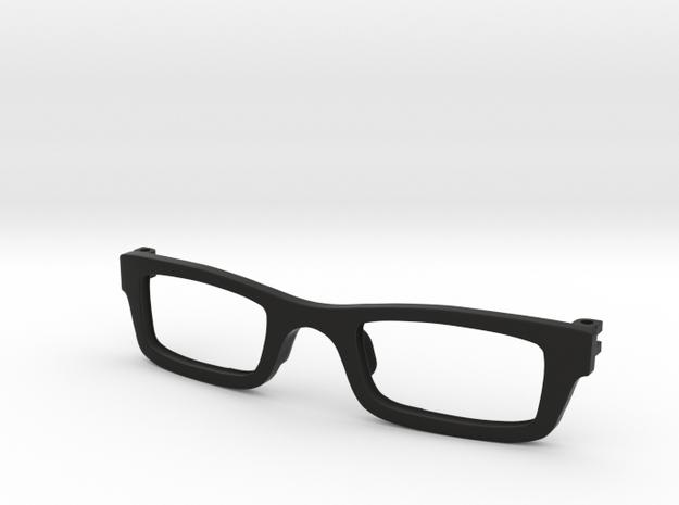Frame for eyeglasses in Black Strong & Flexible
