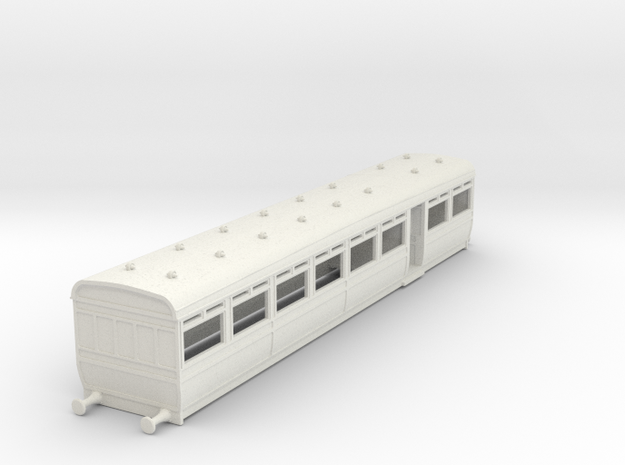 o-76-lswr-d25-trailer-coach-1 in White Natural Versatile Plastic