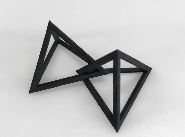Interlocked Triangle Necklace