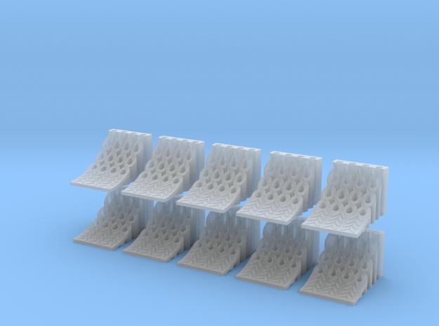 1/50 U-Keile 10er in Smooth Fine Detail Plastic