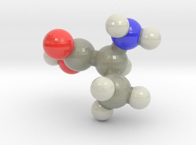 L-alanine in Glossy Full Color Sandstone