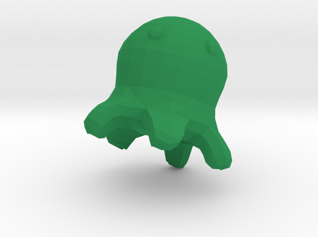 Meet the Brain Slug  in Green Strong & Flexible Polished: Small