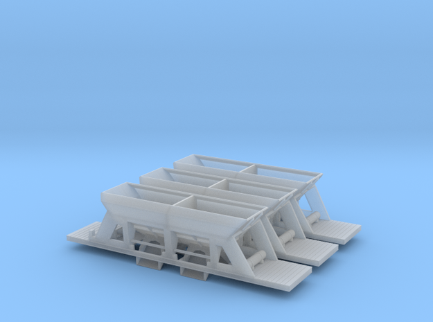 RhB Fac [x3] in Smooth Fine Detail Plastic: 1:150