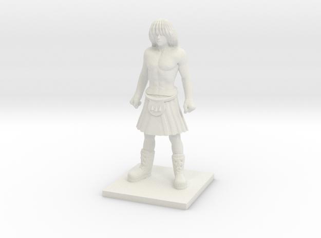 Norse 03 - Lineman in White Natural Versatile Plastic